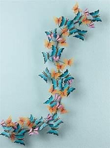 D butterfly wall art butterflies