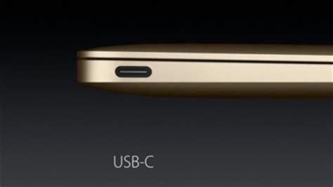 typ c anschluss macbook 12 mit usb 3 1 typ c dieser anschluss ist besetzt golem de