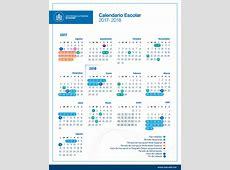 Calendario Escolar 20172018