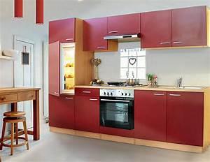 Welche Tapete Passt In Die Küche : k chenzeile k che k chenblock 270 cm breit grau mit e ger ten auch buche o rot ~ Sanjose-hotels-ca.com Haus und Dekorationen