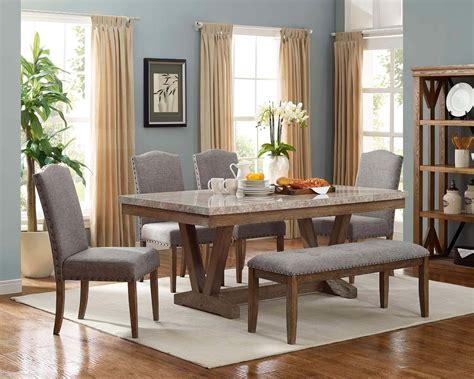 vesper marble dining room set dining room furniture