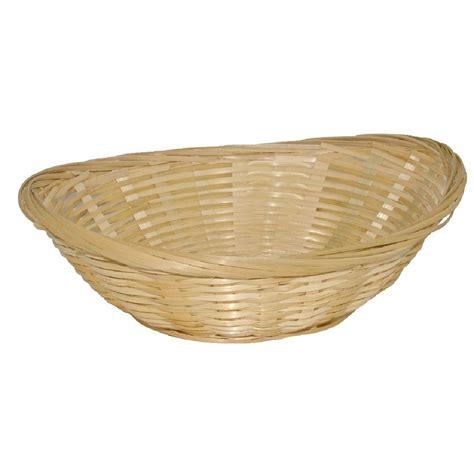bread basket wicker wicker oval bread basket x6 y571 heathrow catering and safety solutions