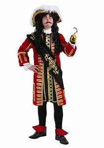 Elite Captain Hook Pirate Costume