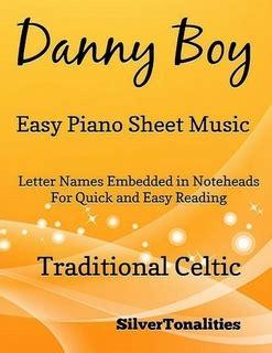 danny boy easy piano sheet    traditional celtic