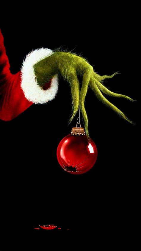 Grinch Wallpaper Iphone by How The Grinch Stole 2000 Phone Wallpaper In