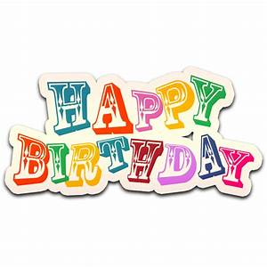 Colorful Happy Birthday PNG Image - WOWPNG,COM | Free PNG ...