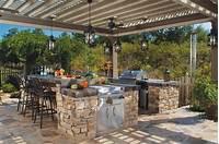 interesting small outdoor kitchen 12 Gorgeous Outdoor Kitchens | HGTV's Decorating & Design ...