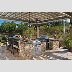 12 Gorgeous Outdoor Kitchens  Hgtv's Decorating & Design