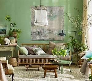 Idee Deco Peinture Salon : idee deco salon ambiance zen 6 couleur peinture salon conseils et 90 photos pour vous kirafes ~ Preciouscoupons.com Idées de Décoration