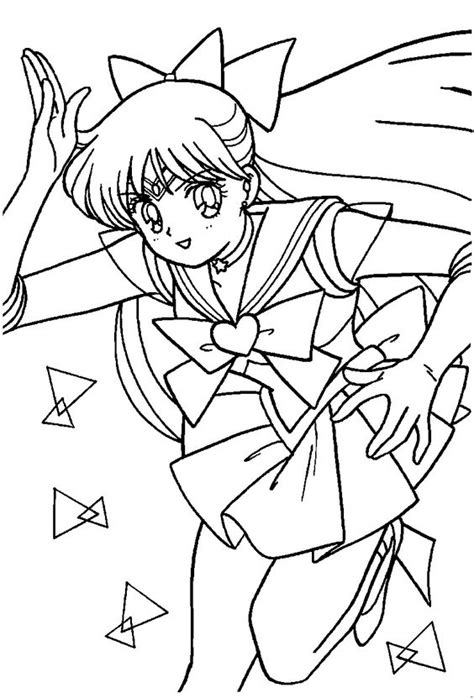 Sailor Venus Coloring Pages - Eskayalitim