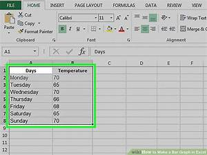 How To Make A Bar Graph In Excel  10 Steps  With Pictures
