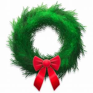 Christmas Wreaths & Mistletoe Stickers for Facebook ...