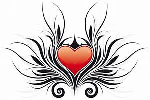 Tribal Heart Floral Tattoos Free Tattoo Designs Gallery ...