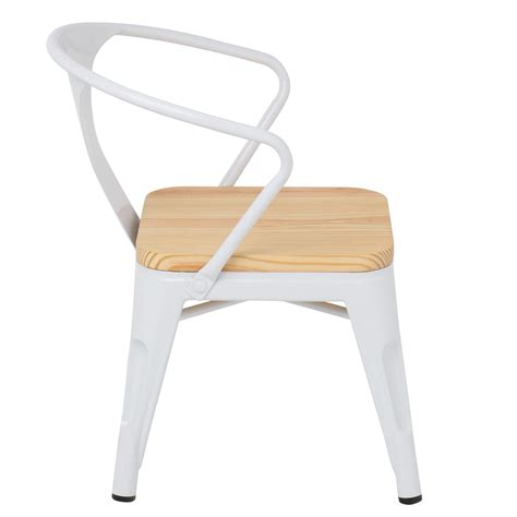chaise avec accoudoirs chaise avec accoudoirs lix bois sklum
