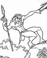 Tarzan Designlooter sketch template
