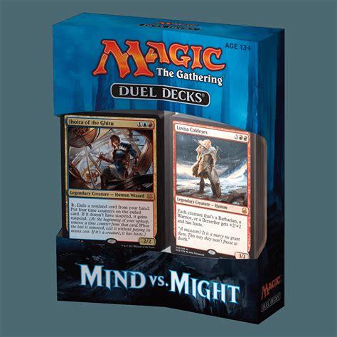 magic the gathering decks magic the gathering ccg duel decks mind vs might