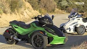 2012 Can-am Spyder Roadster First Ride - Motousa