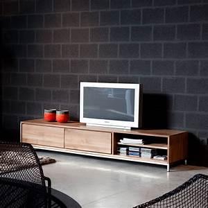 Essential TV Mobile Porta TV Ethnicraft In Legno Con