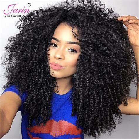 aliexpress com buy jarin kinky curly weave human hair