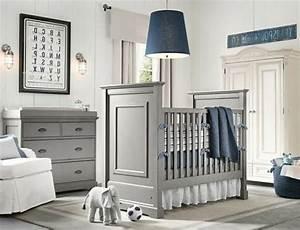 Sessel Für Babyzimmer : graue und blaue farbe f r eine schlichte und moderne babyzimmer gestaltung 45 auff llige ideen ~ Pilothousefishingboats.com Haus und Dekorationen