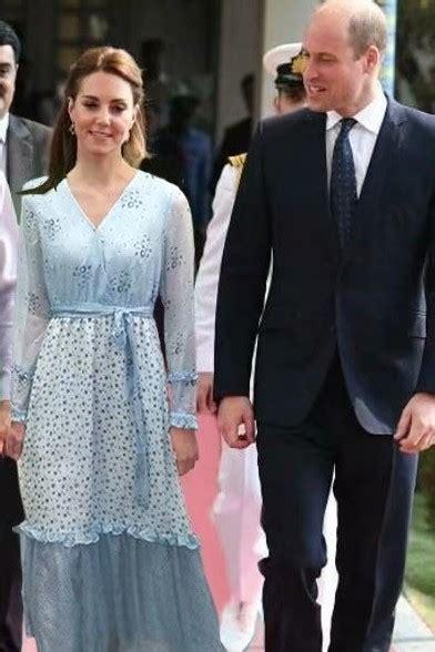 kate middleton blue floral print maxi dress  pakistan