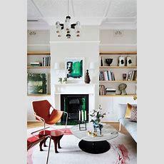 Luxuriöses Wohnzimmer Aus Einer Farbenfrohen Und