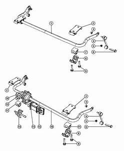Jeep Wrangler Actuator  Stabilizer Bar