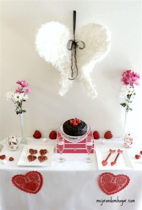 ideas  fiesta de san valentin mejorando mi hogar