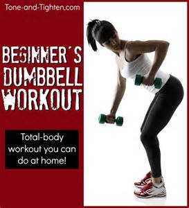 Dumbbells at Home Workout Routines for Beginners