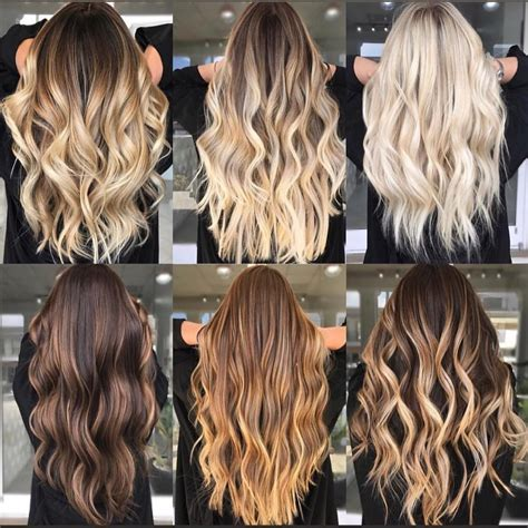 20 Balayage Brown To Blonde Long Hairstyles Hair Colour