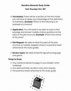 Narrative Elements Study Guide