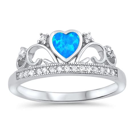 Tiara Ring New 925 Sterling Silver Heart Promise. Where To Buy Wedding Rings. Sterling Silver Engagement Rings. Indian Bangle Bracelets. Elastic Anklet. Church Bracelet. Biker Pendant. Cusion Rings. Legend Watches