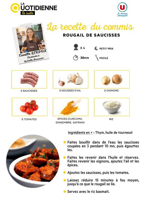 recette de cuisine du jour recette du jour plat un site culinaire populaire avec