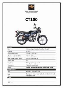 Kawasaki Bajaj Ct 100 Wiring Diagram