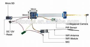 Diy Recordable Wireless Access Cctv Ip Camera Module