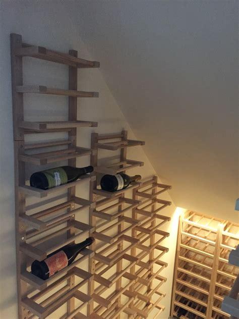 wine rack hutten wall mounted side on wine racking ikea hackers Ikea