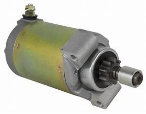 New Starter Motor John Deere Mower Gx75 Rx75 Srx75 Sx75