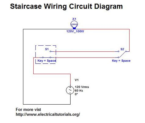 Circuit Diagram For Staircase Wiring staircase wiring circuit complete guide in urdu