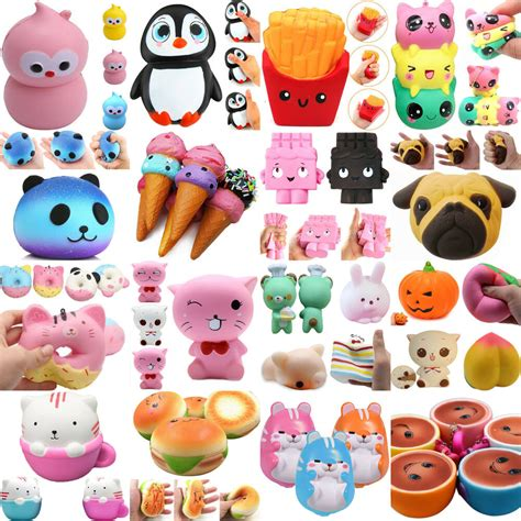 new jumbo slow rising squishies scented charms kawaii squishy squeeze toy gift n ebay