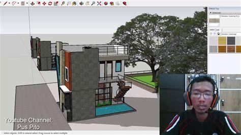 masuk akal kah desain rumah ukuran xm  lantai kolam