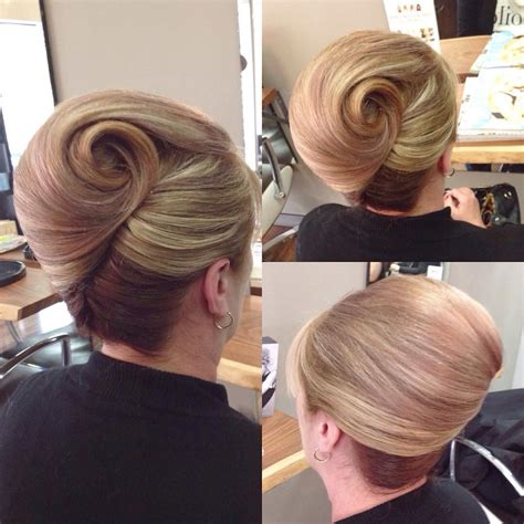 Classic Twist Updo Hairstyle by Classic Roll With A Twist Special Occasions