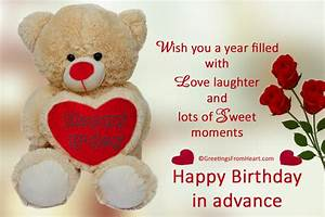 Pin Advance-happy-birthday-wishes-pictures on Pinterest