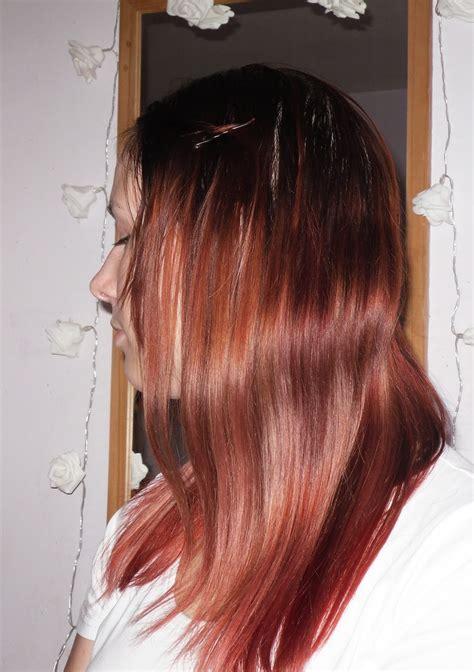 review wella perfection  color fresh vermillion redd