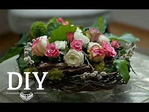 Frühlingsdeko Aus Naturmaterialien Selber Machen : diy tolle fr hlingsdeko zu ostern einfach selber machen deko kitchen youtube ~ Eleganceandgraceweddings.com Haus und Dekorationen