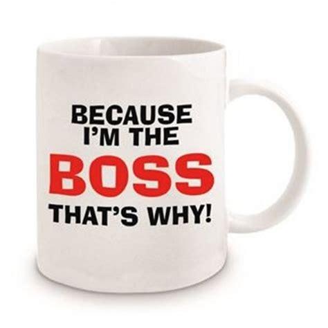 Commercial grade ceramic & 100% safe: Because I'm The Boss Mug   DadShop