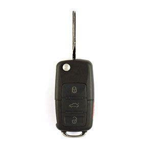 Jetta Flip Key Keyless Entry Remote Complete