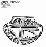 Coloring Pages Southwest Printable Pottery American America Study Frontier Sheets Keeffe Unit Acoma Josefina Nm Native Pot Southwestern Collections Georgia sketch template