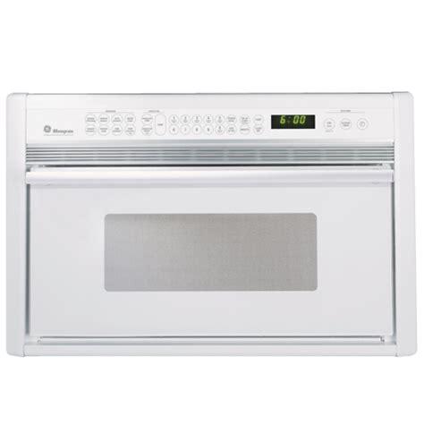 ge monogram white built  microwave convection oven zmcwb ge appliances