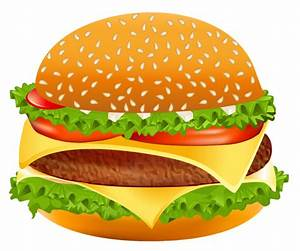 Hamburger PNG Vector Clipart Image | Gallery Yopriceville ...