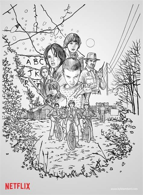 stranger  coloring pages club  print fun  kids
